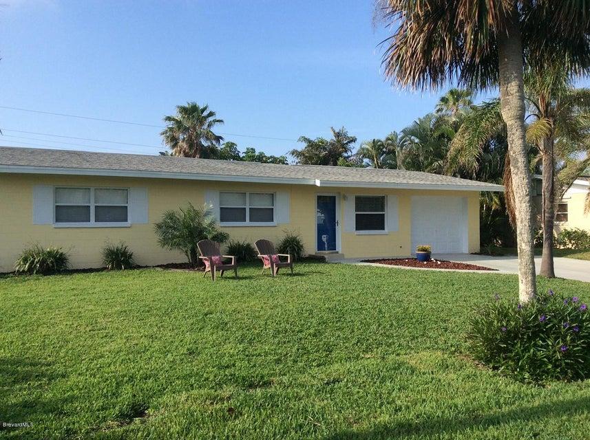 Частный односемейный дом для того Аренда на 201 Coconut 201 Coconut Indialantic, Флорида 32903 Соединенные Штаты
