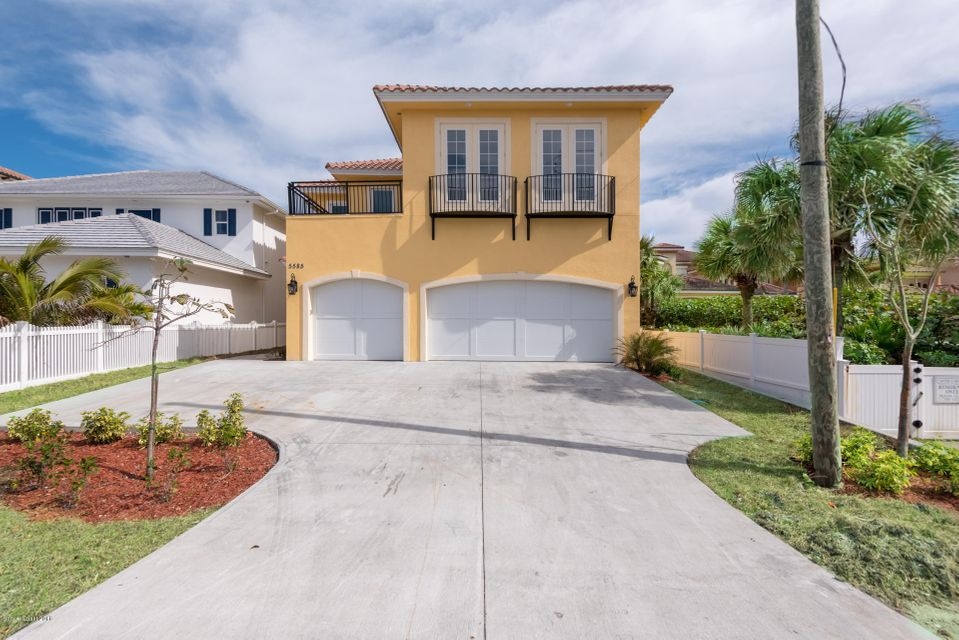 Частный односемейный дом для того Продажа на 5585 S Highway A1a 5585 S Highway A1a Melbourne Beach, Флорида 32951 Соединенные Штаты