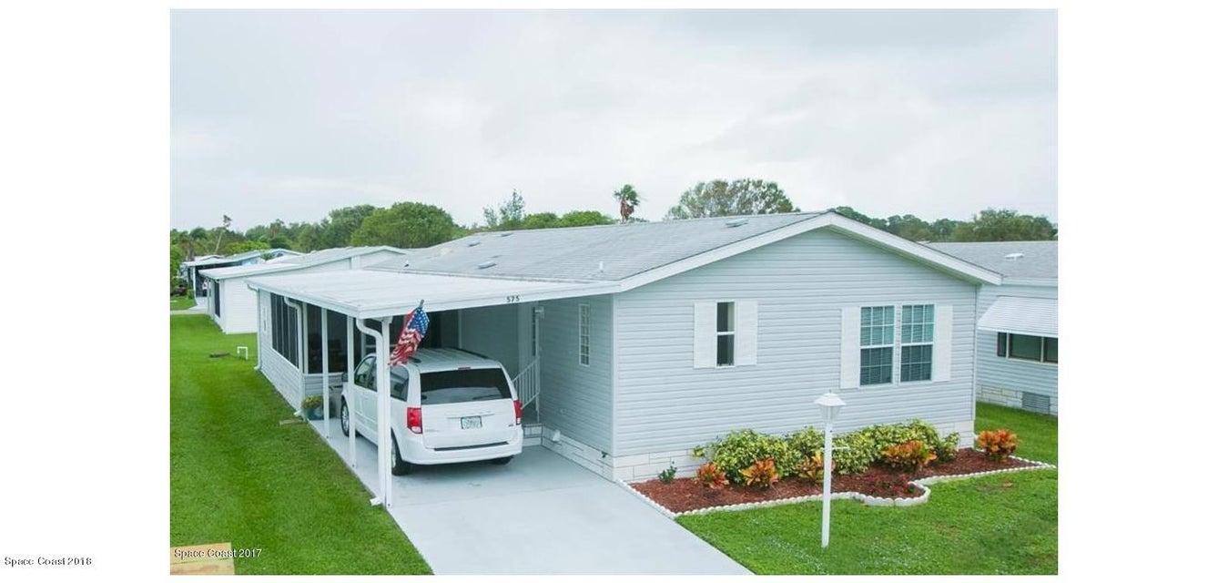 獨棟家庭住宅 為 出售 在 575 Dolphin 575 Dolphin Barefoot Bay, 佛羅里達州 32976 美國