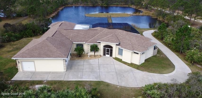 Vivienda unifamiliar por un Venta en 195 Terkam 195 Terkam Grant Valkaria, Florida 32909 Estados Unidos
