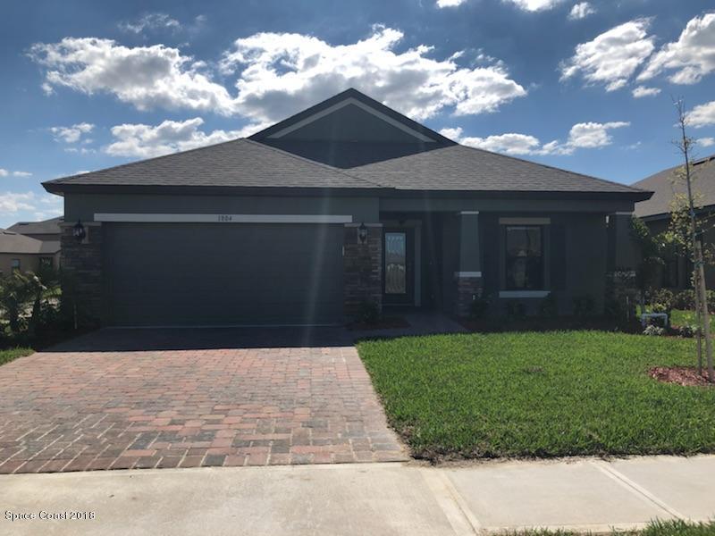 Casa Unifamiliar por un Alquiler en 1804 Musgrass 1804 Musgrass West Melbourne, Florida 32904 Estados Unidos
