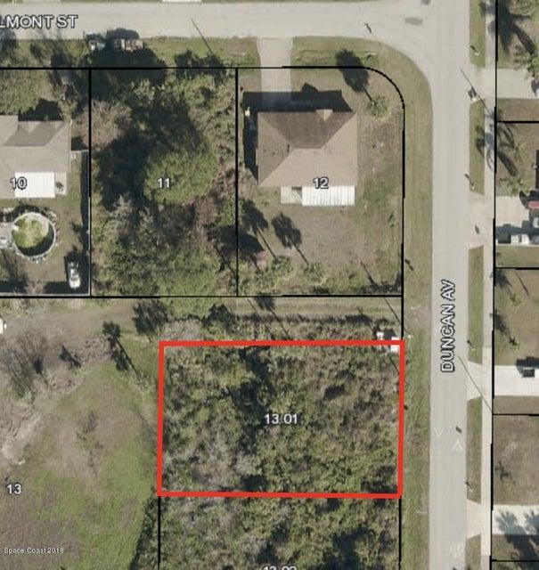 土地 のために 売買 アット Duncan Duncan Port St. John, フロリダ 32927 アメリカ合衆国
