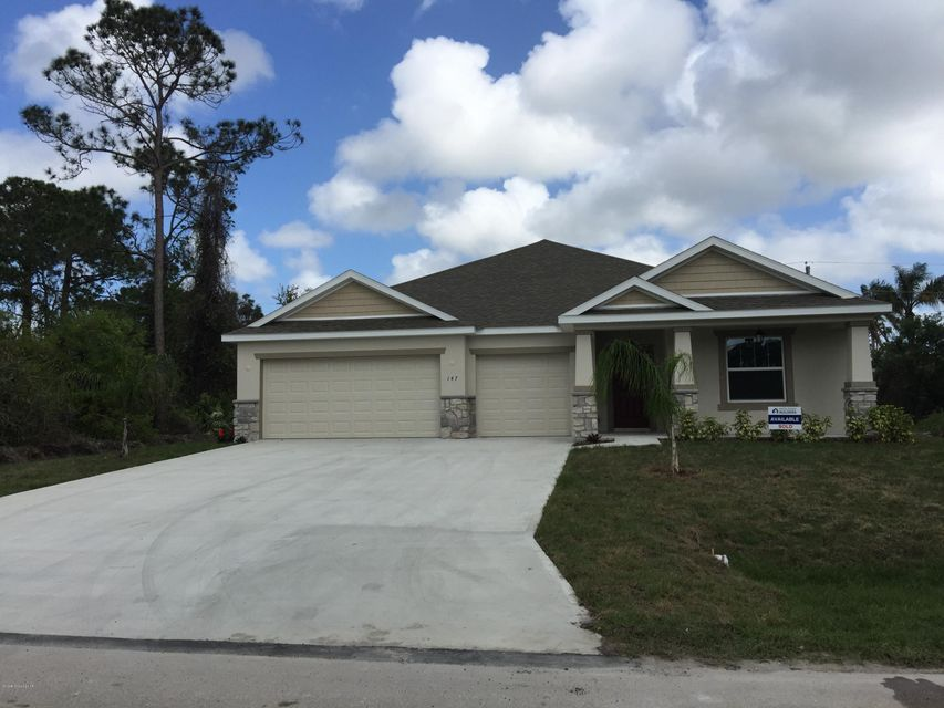 Single Family Home for Rent at 147 Bonfire 147 Bonfire Palm Bay, Florida 32907 United States