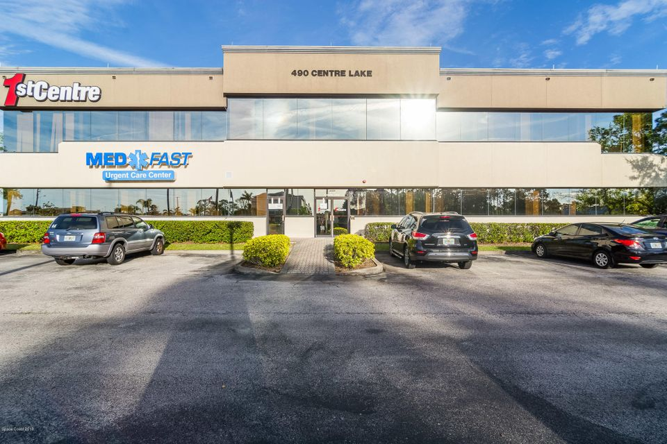Commercial for Rent at 490 Centre Lake 490 Centre Lake Palm Bay, Florida 32907 United States