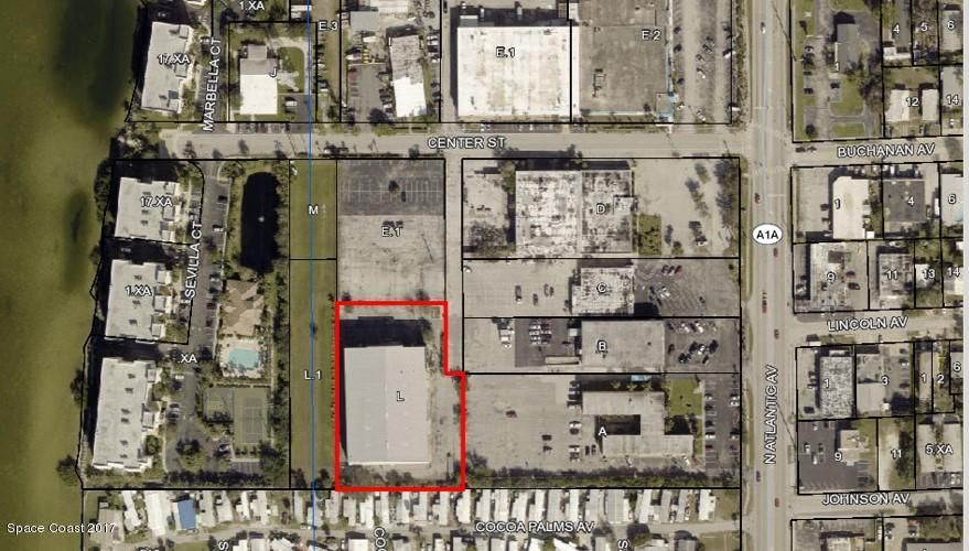 Commercial for Sale at 191 Center Street 191 Center Street Cape Canaveral, Florida 32920 United States