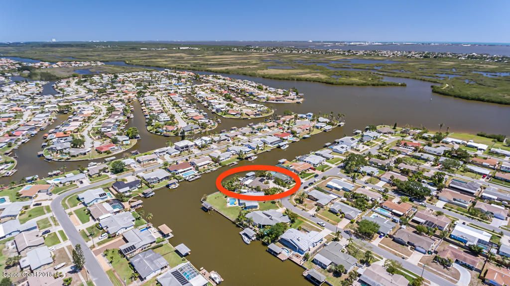 260  Surf Spray Drive, Merritt Island in Brevard County, FL 32953 Home for Sale