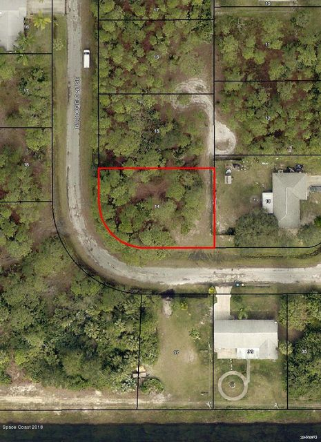 Land for Sale at 801 Brookfield 801 Brookfield Palm Bay, Florida 32909 United States