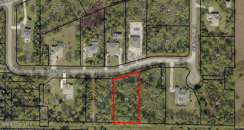 Land for Sale at 7130 Hacienda 7130 Hacienda Grant Valkaria, Florida 32949 United States