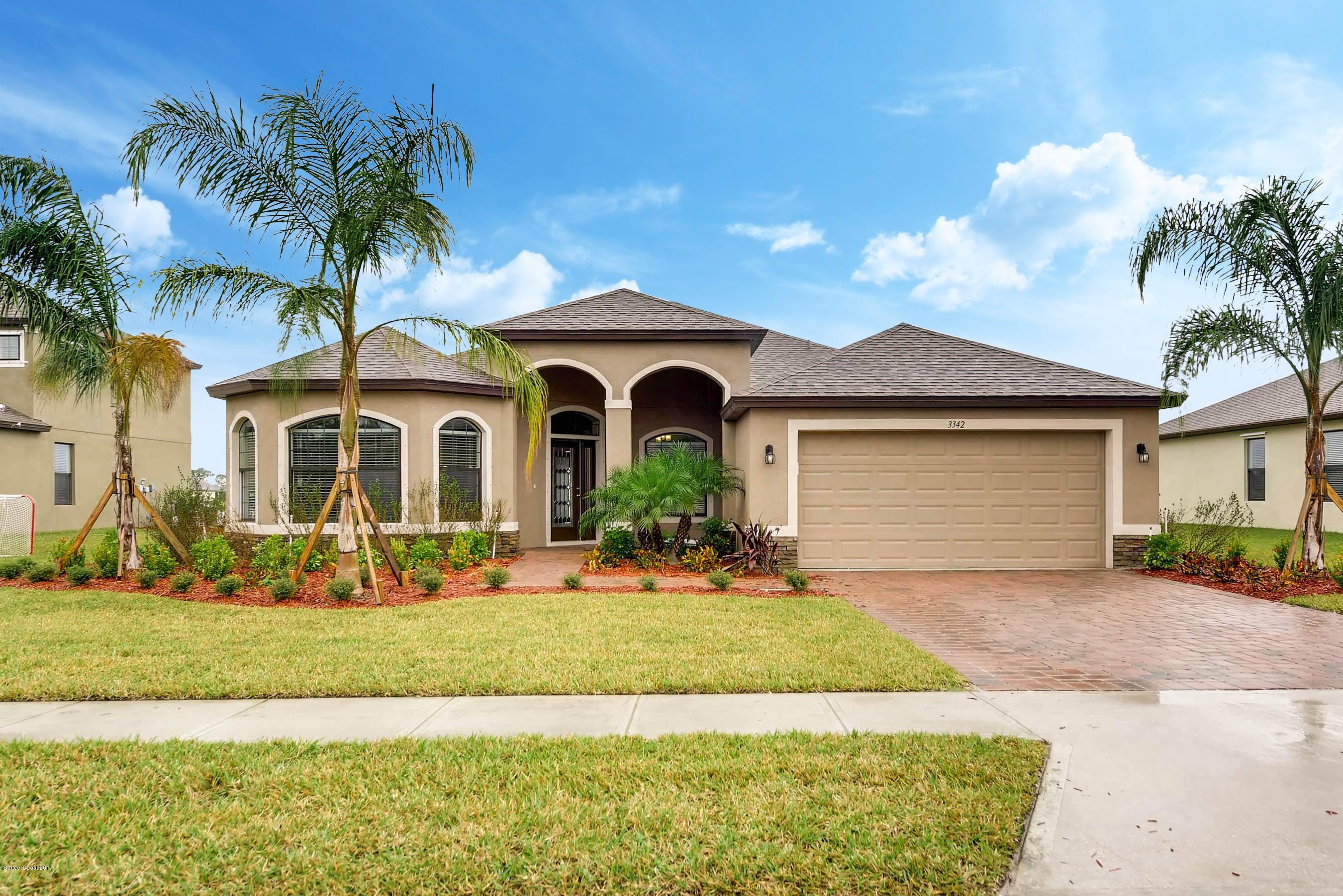 獨棟家庭住宅 為 出售 在 3370 Salt Marsh 3370 Salt Marsh West Melbourne, 佛羅里達州 32904 美國