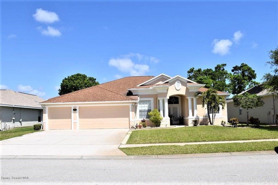 獨棟家庭住宅 為 出售 在 3565 Soft Breeze 3565 Soft Breeze West Melbourne, 佛羅里達州 32904 美國