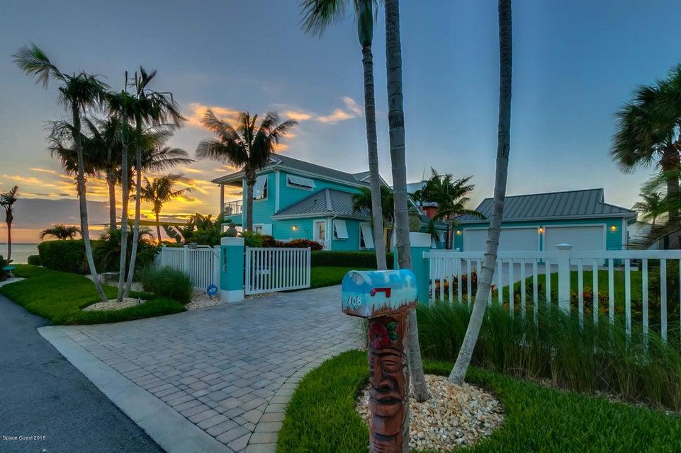 Maison unifamiliale pour l Vente à 108 28th 108 28th Cocoa Beach, Florida 32931 États-Unis