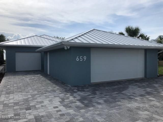 Single Family Home for Rent at 659 S Atlantic 659 S Atlantic Cocoa Beach, Florida 32931 United States