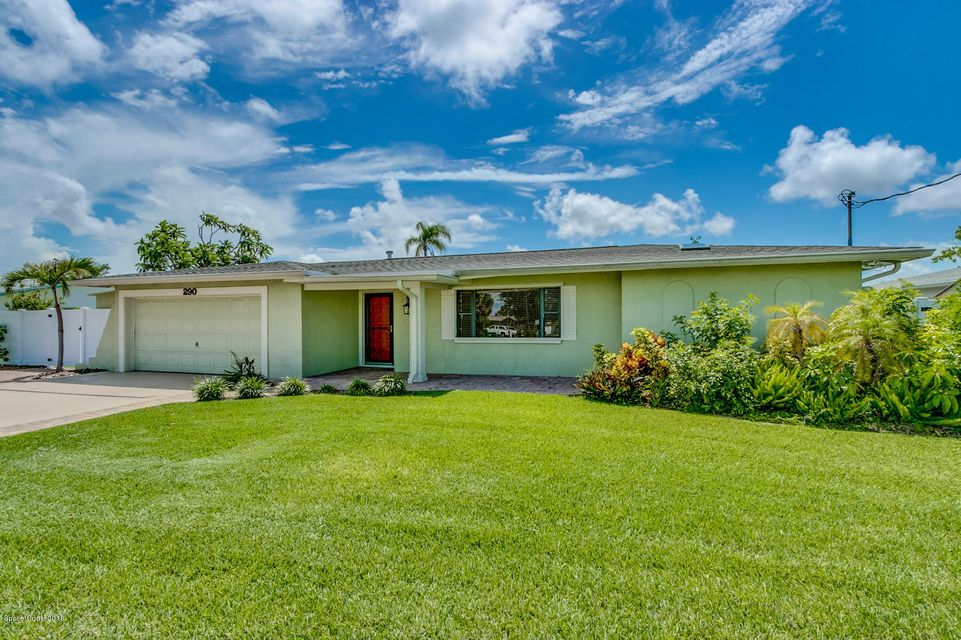 290  Diana Boulevard, Merritt Island in Brevard County, FL 32953 Home for Sale