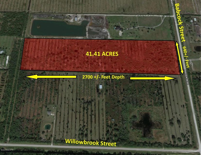 Land for Sale at S Babcock S Babcock Palm Bay, Florida 32909 United States