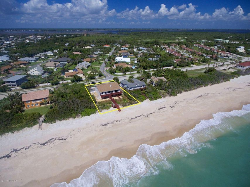 Single Family Homes for Sale at 7087 S Highway A1a Melbourne Beach, Florida 32951 United States