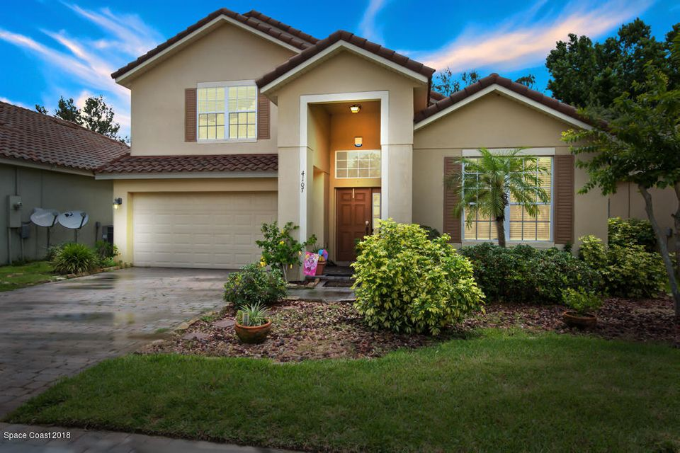 Single Family Home for Sale at 4107 Fitzroy Reef 4107 Fitzroy Reef Mims, Florida 32754 United States
