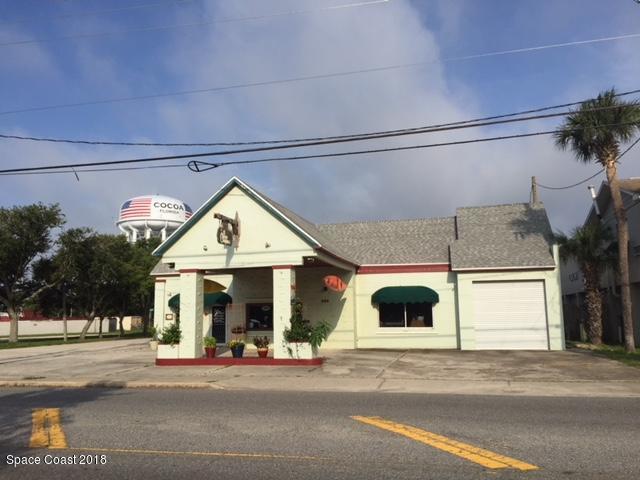 Kommersiell för Försäljning vid 229 Forrest Avenue 229 Forrest Avenue Cocoa, Florida 32922 Förenta staterna
