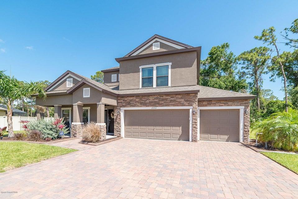 Casa Unifamiliar por un Venta en 2442 Okalani 2442 Okalani Palm Shores, Florida 32940 Estados Unidos