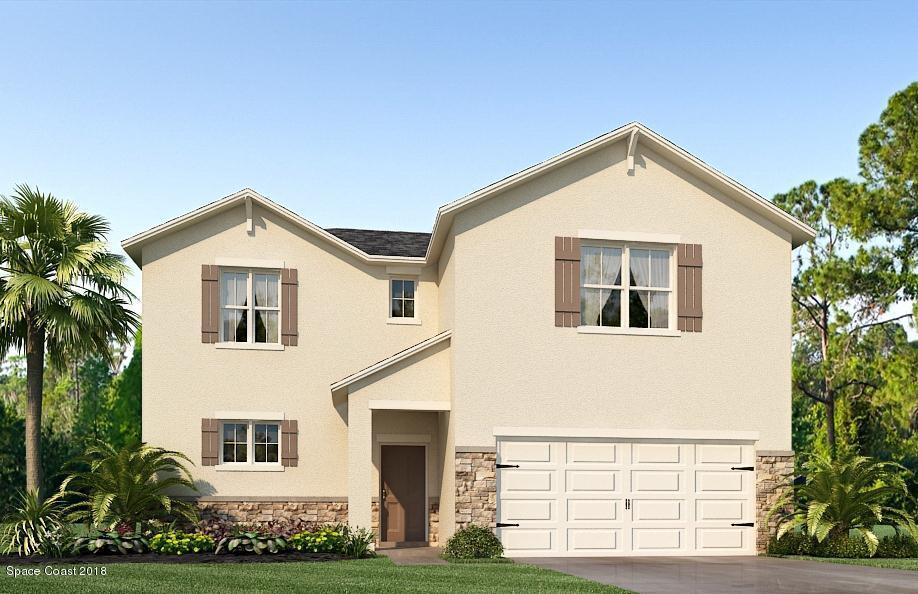 獨棟家庭住宅 為 出售 在 495 Horsemint 495 Horsemint West Melbourne, 佛羅里達州 32904 美國
