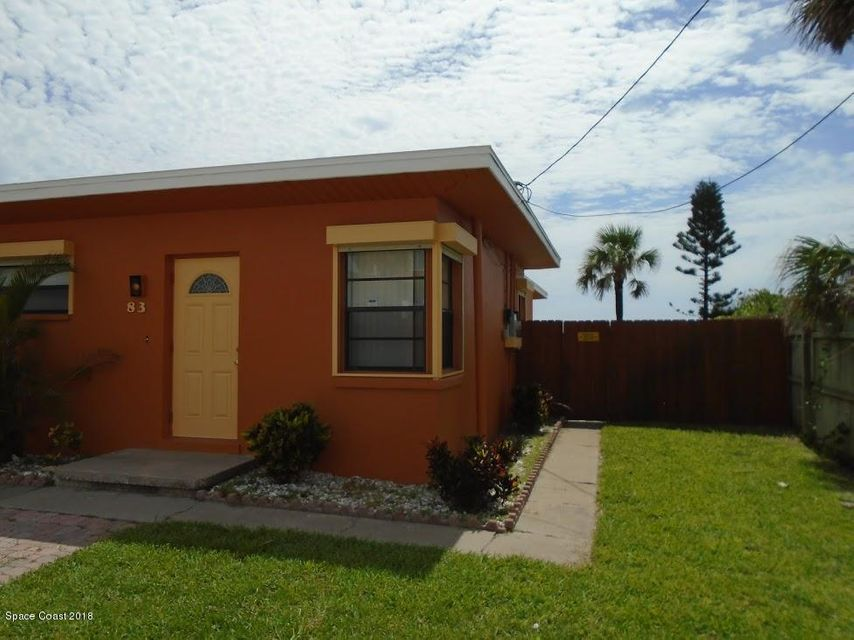 一戸建て のために 賃貸 アット 83 N Atlantic 83 N Atlantic Cocoa Beach, フロリダ 32931 アメリカ合衆国