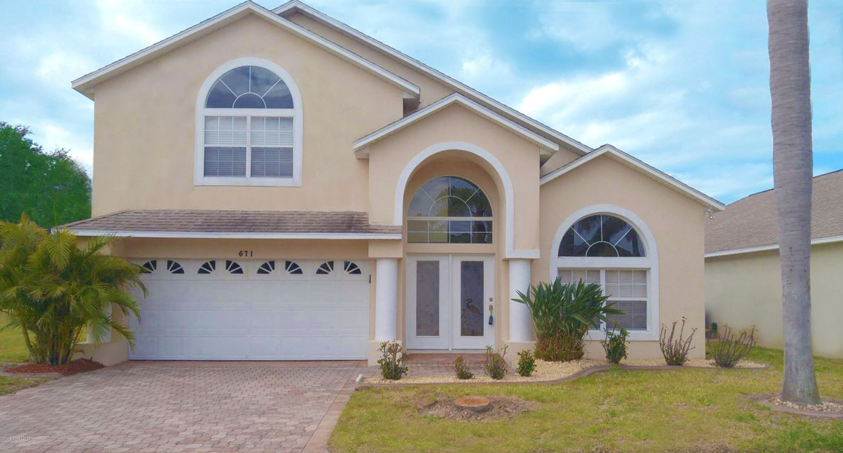 Single Family Home for Rent at 671 Sunset Lakes 671 Sunset Lakes Merritt Island, Florida 32953 United States