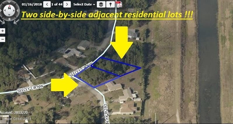 1246-52 **Two Adjacent Lots**On Seeley Circle