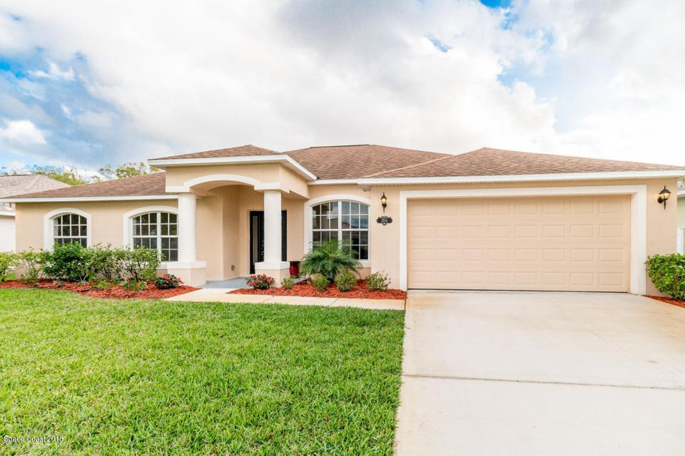 Single Family Home for Rent at 3285 Soft Breeze 3285 Soft Breeze West Melbourne, Florida 32904 United States