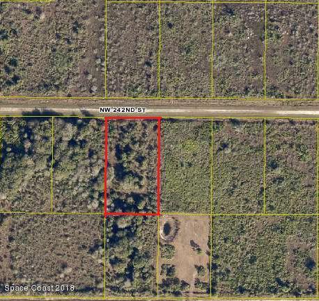 土地 為 出售 在 18824 NW 242nd 18824 NW 242nd Okeechobee, 佛羅里達州 34972 美國