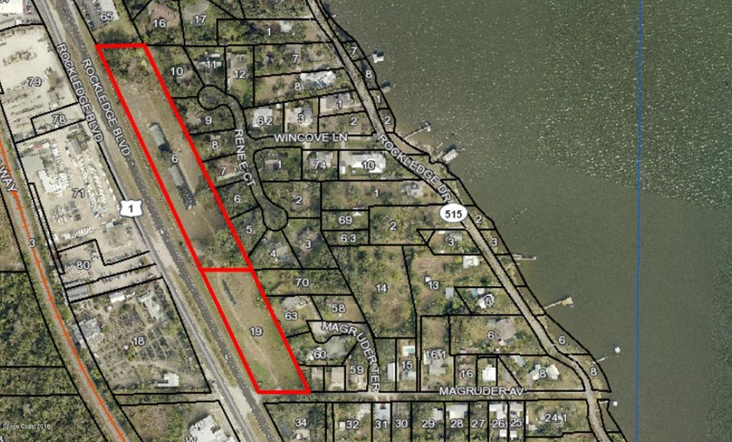Land for Sale at 2160 Rockledge Rockledge, Florida 32955 United States