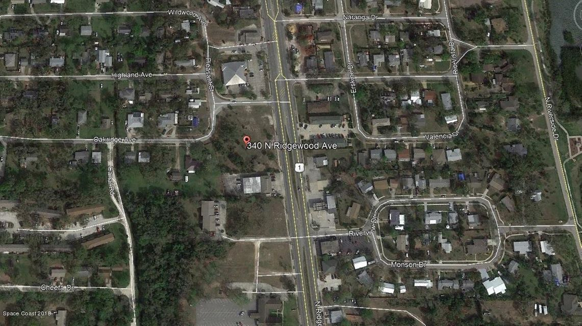 Land for Sale at 340 N Ridgewood 340 N Ridgewood Edgewater, Florida 32132 United States