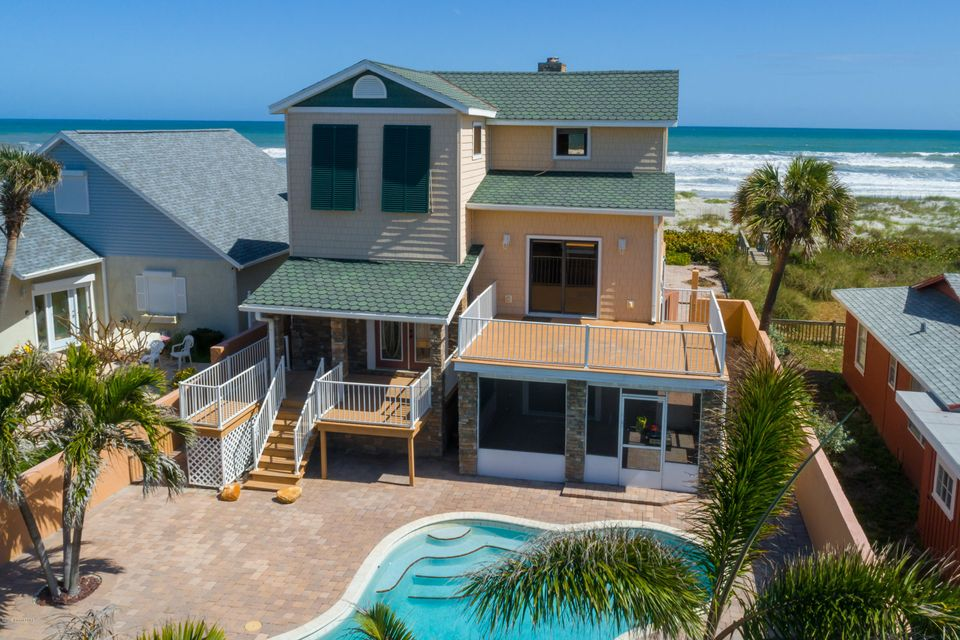 Single Family Home for Sale at 123 S Atlantic 123 S Atlantic Cocoa Beach, Florida 32931 United States