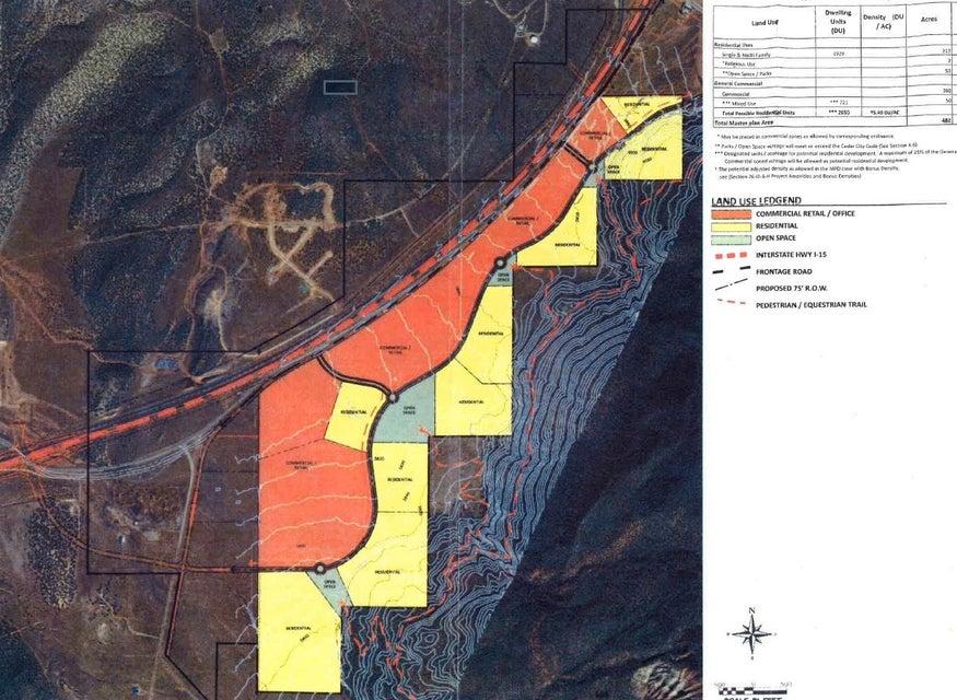Land for Sale at 482.48 Ac South I-15 Interchange 482.48 Ac South I-15 Interchange Cedar City, Utah 84720 United States