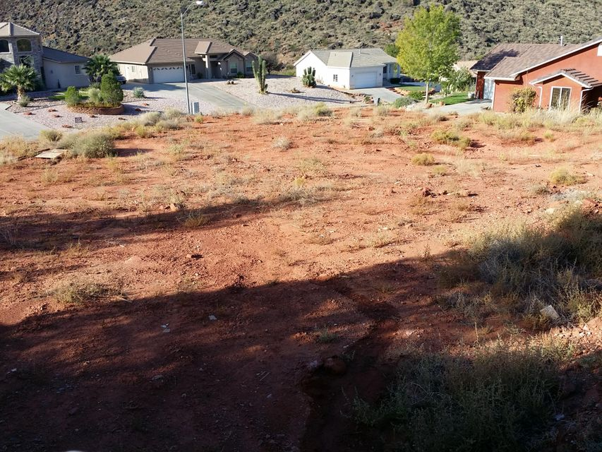 Lot is located in an area that is growing by the month! Sits high atop the street with good views! Plenty of room for your new home!