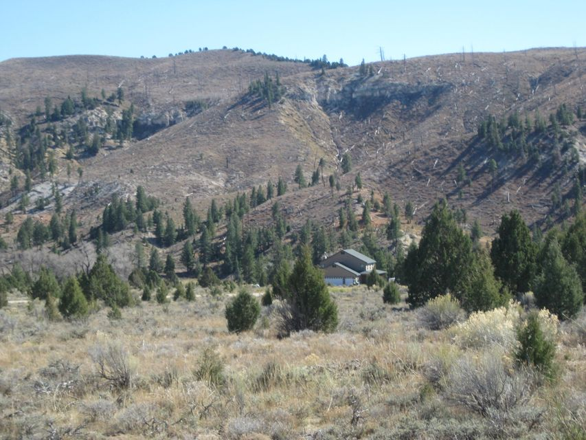 Beautiful home site in a peaceful area with astonishing views only 11 miles from Duck Creek store. 2 acre feet of water, power, and road.  Lot located in Mammoth Creek Estates with year around access and beautiful neighboring homes.
