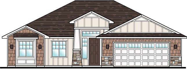 This brand new home is to be built at Tupelo Estates in beautiful Little Valley. This floor plan can be built on this lot or other available lots within the community. The floor plan features a 2 car garage, 3 bedrooms and 2 bathrooms with a very open concept. The interior will be designed to fit your needs. This price includes a $7,000 discount on this homesite.