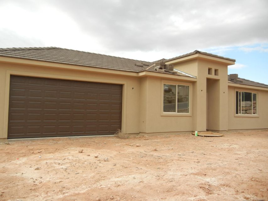 BACK ON MARKET.New Construction. CO issued in Sept. Beautiful/Convenient layout. Tile flooring-wood plank style. Upgraded Brazilian Granite countertops and granite tub/shower surrounds. Satin nickel fixtures & accents. Walk-in Master Closet. Refrigerator. Front Yard- desert landscaping. Walk-out basement with own entrance, 100% complete including tile, carpet and granite.  Agent/seller related.