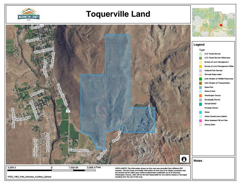 Land for Sale at HWY 17 Hunter Lane HWY 17 Hunter Lane Toquerville, Utah 84774 United States