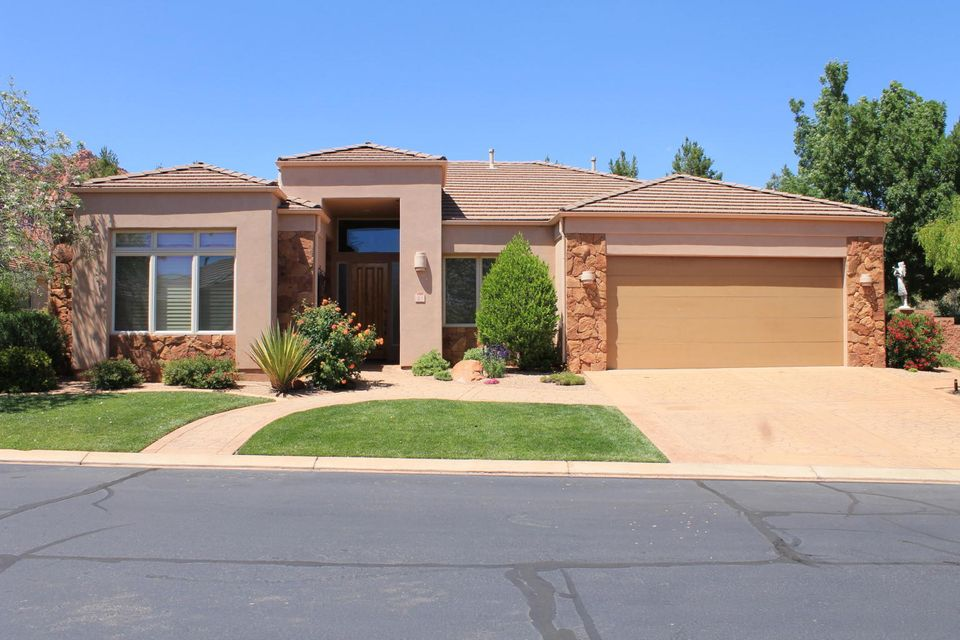 Single Family Home for Sale at 140 Tuacahn 140 Tuacahn Ivins, Utah 84738 United States