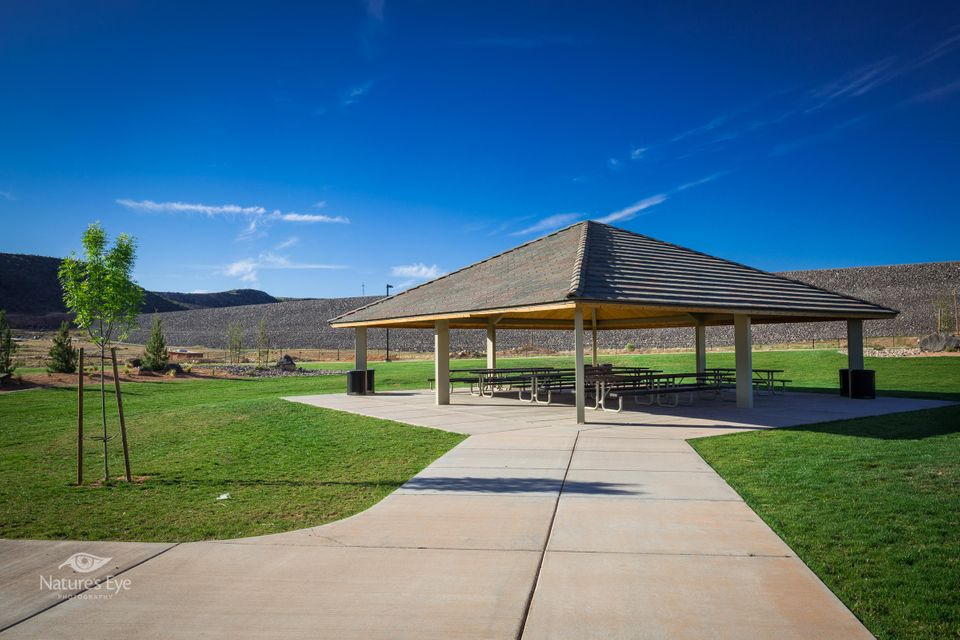 This custom home plan is located in Southern Utah\