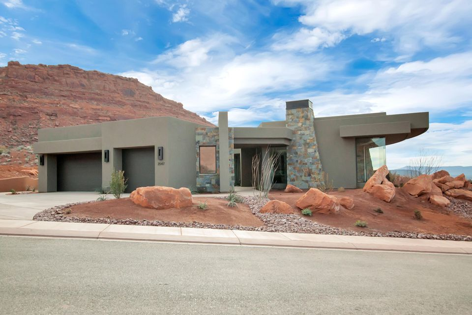 واحد منزل الأسرة للـ Sale في 2047 Cougar Rock Circle 2047 Cougar Rock Circle St. George, Utah 84770 United States