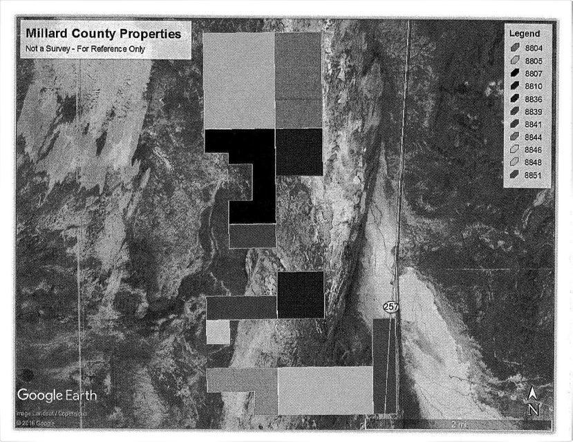 Земля для того Продажа на Hwy 257 Black Rock Hwy 257 Black Rock Fillmore, Юта 84631 Соединенные Штаты