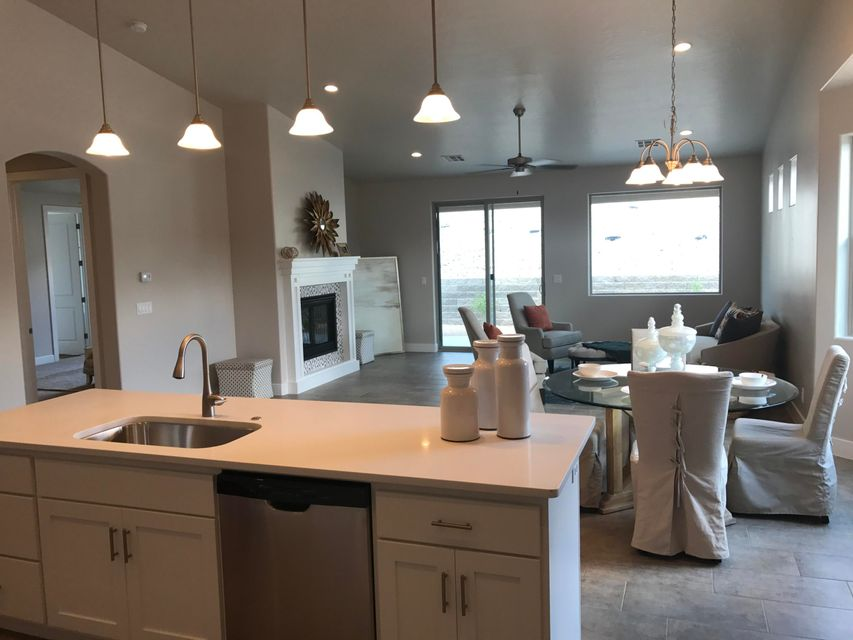 Gorgeous brand new home in Coral Canyon Highland Terrace  3 Beds 2 Baths, open great room. Gourmet kitchen with white cabinets & Quartz counters, single bowl sink. 2 large pantries. Upgraded Tile throughout. Tons of Storage, His and Hers Closets in master bedroom. White Cabinets in laundry/Quartz counter.  Front Courtyard and covered back patio. see documents for design layouts