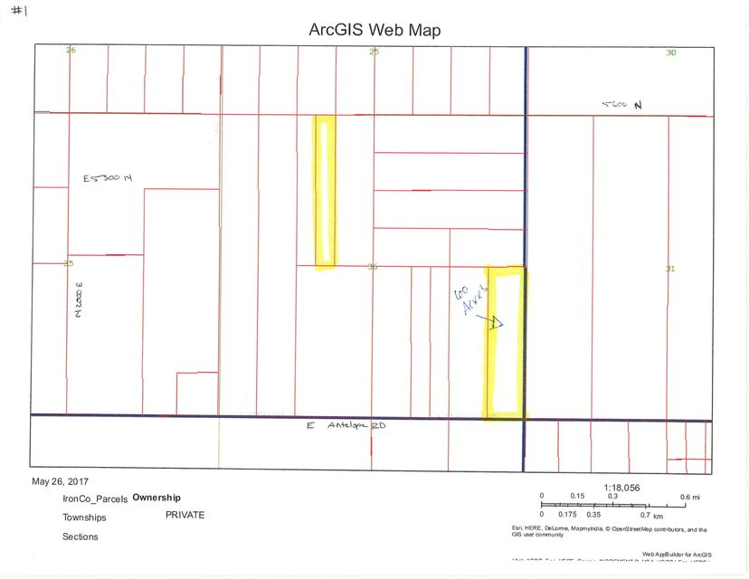 Additional photo for property listing at 60 acre T34S R16W 60 acre T34S R16W Beryl, 犹他州 84714 美国