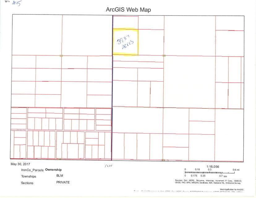 أراضي للـ Sale في 39.37 acre T34S R16W 39.37 acre T34S R16W Beryl, Utah 84714 United States