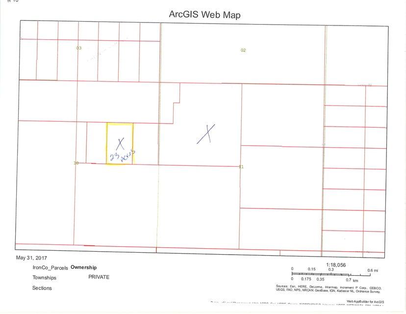 أراضي للـ Sale في 23 acre T34S R16W 23 acre T34S R16W Beryl, Utah 84714 United States