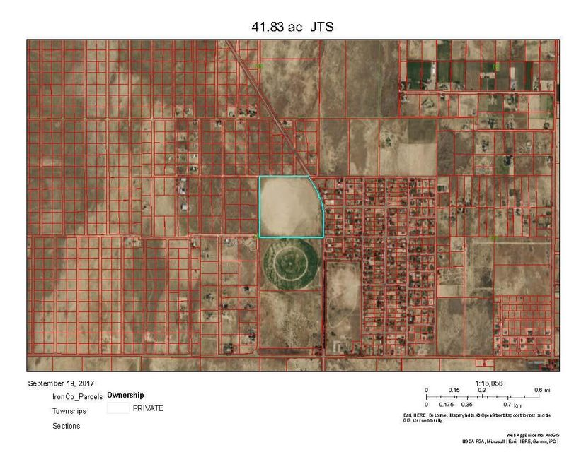 Terreno por un Venta en 41.83 Ac T35S R11W S8 41.83 Ac T35S R11W S8 Enoch, Utah 84721 Estados Unidos