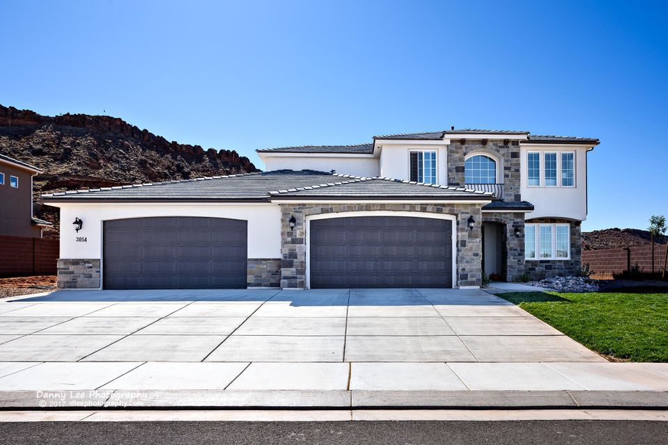 Single Family Home for Sale at 3054 Maple Mountain Drive 3054 Maple Mountain Drive St. George, Utah 84790 United States