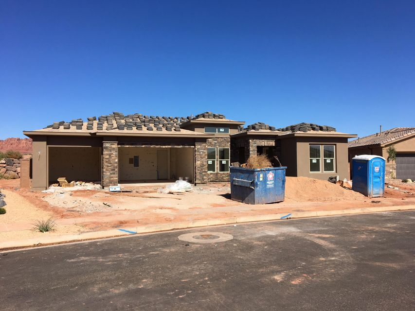 New Construction and beautiful. Huge open floorpan with every upgrade. Modern w a touch of Craftsman. Gorgeous Plank Tile throughout. Granite, Two Tone, Tile, Custom Cabinets, custom lighting, custom Fireplace Wall Carpentry, huge laundry, & More! Meticulous Subdivision with unsurpassed Red Mountain Views! Amenities Include, pool, hot tub, pickle ball and clubhouse.