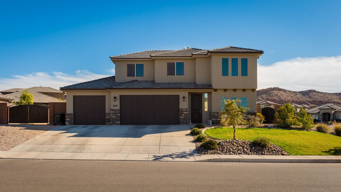 Single Family Home for Sale at 2880 ASHBY Drive 2880 ASHBY Drive St. George, Utah 84790 United States