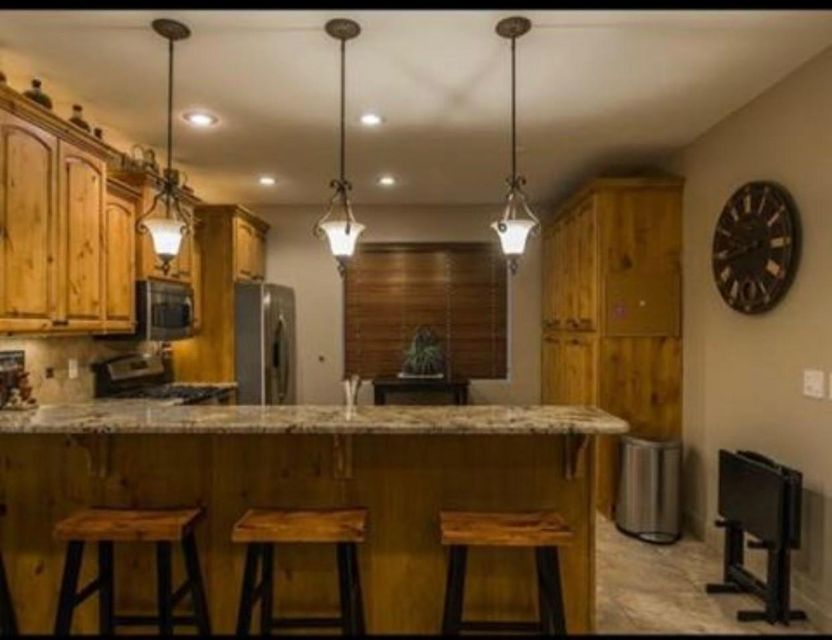 Custom immaculate home that looks and feels brand new.  Upgrades include granite throughout, custom tile work, 8\
